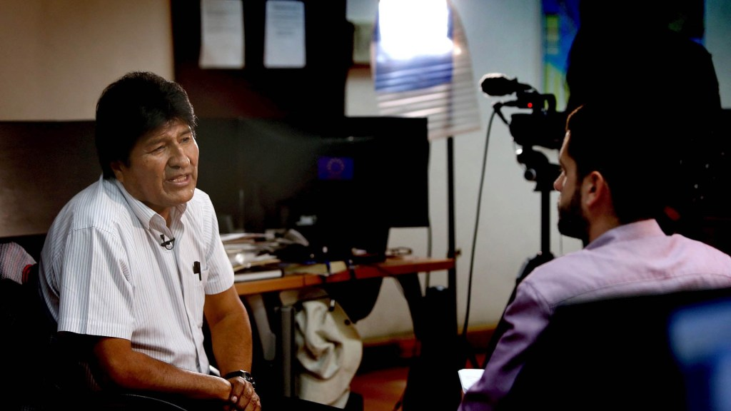 Evo Morales teme estallido de guerra civil en Bolivia - Evo Morales entrevista Bolivia