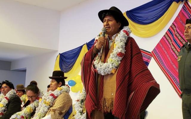 Panistas rechazan posible asilo a Evo Morales - Foto de Twitter Evo Morales