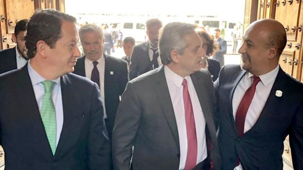 López Obrador recibe a Alberto Fernández en Palacio Nacional - López Obrador recibe a Alberto Fernández en Palacio Nacional
