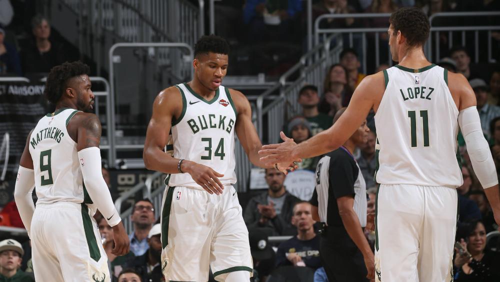 Bucks de Milwaukee consiguen décima victoria consecutiva - Foto de Bucks de Milwaukee