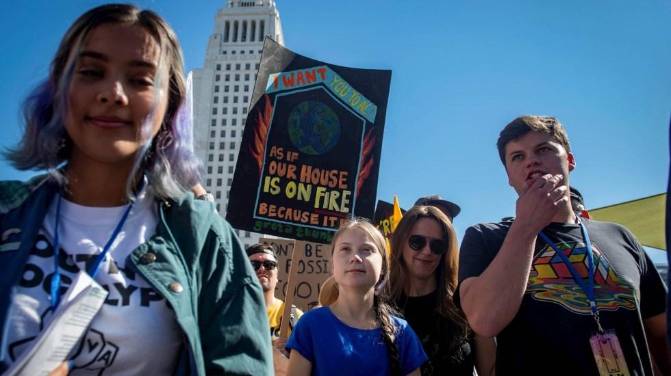 "Diccionario Collins elige ""huelga climática"" como palabra del año 2019 - Greta thunberg huelga climática"