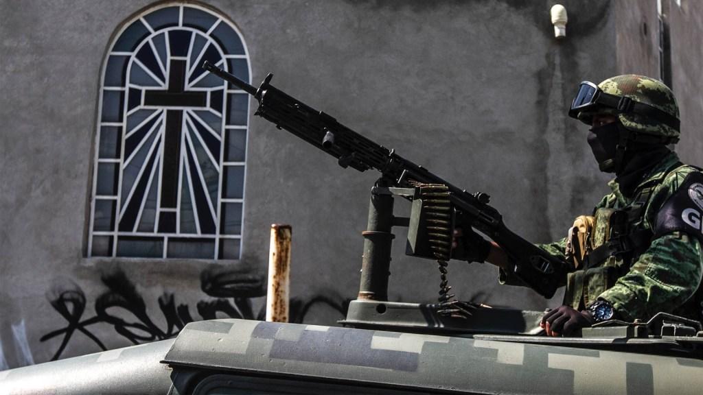 """""""México es el epicentro mundial de la violencia"""", alerta ONG - Guardia Nacional México militar soldado"""