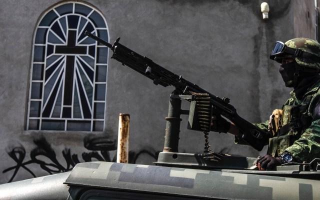 Preferiría visitar Siria que ciertas partes de México: senador de EE.UU. - Guardia Nacional México militar soldado