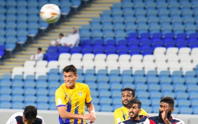 Héctor Moreno anota gol en triunfo del Al Gharafa contra el Umm Salal - Héctor Moreno
