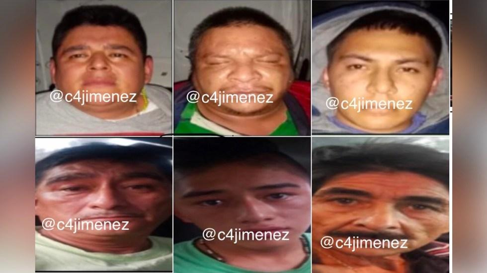 Detienen a los presuntos homicidas de 'El Chimino' - Presuntos homicidas de El Chimino. Foto de EFE