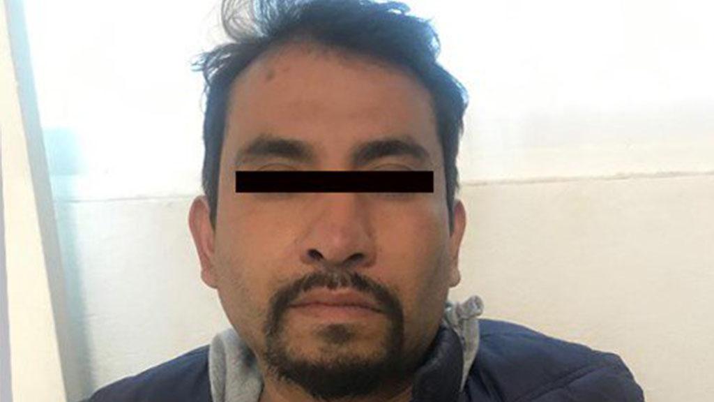 Ignacio N., presunto causante de choque en la Mx-Pach que dejó 13 muertos. Foto de FGJEM