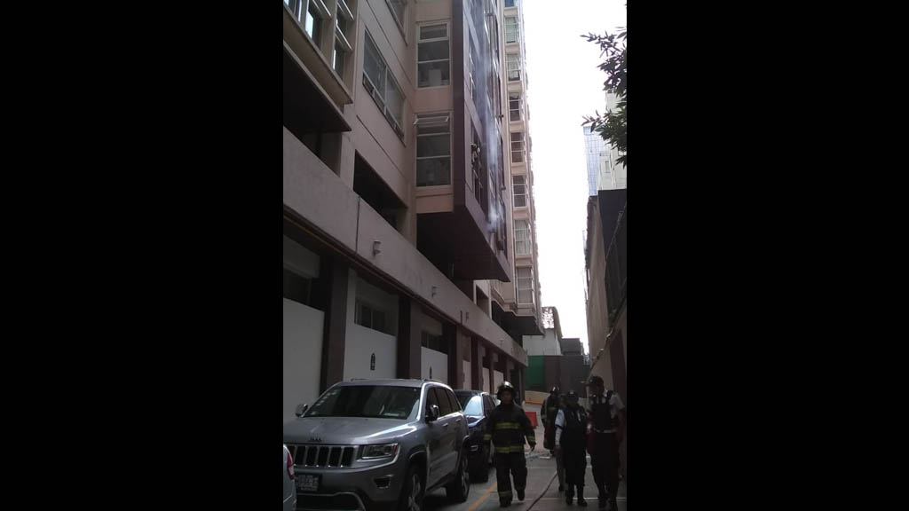 Controlan incendio en departamento de la Miguel Hidalgo - Incendio departamento Miguel Hidalgo Ciudad de México
