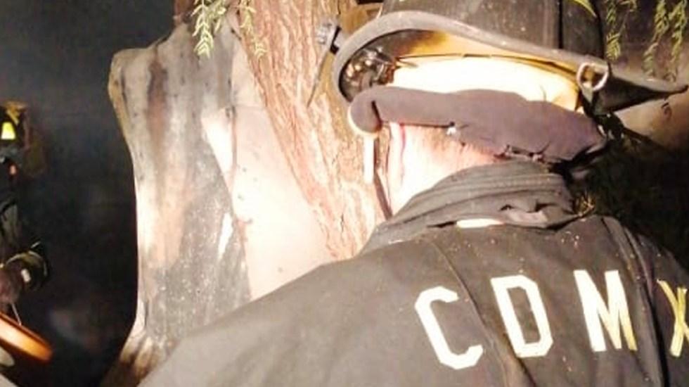 Muere persona en incendio de vivienda en la GAM - Incendio en vivienda de la GAM
