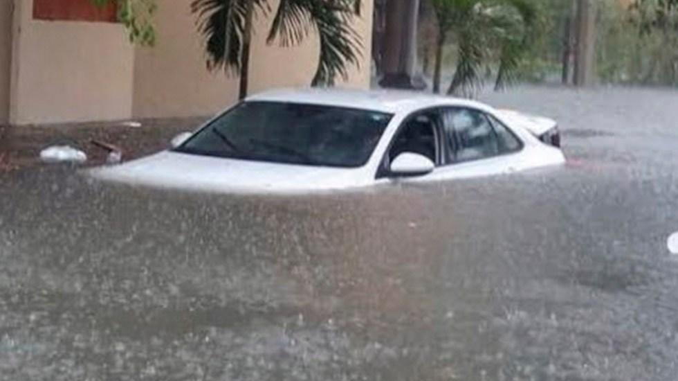 Sonora pide declaratoria de emergencia para cuatro municipios - Inundación en Mazatlán, Sinaloa. Foto Especial
