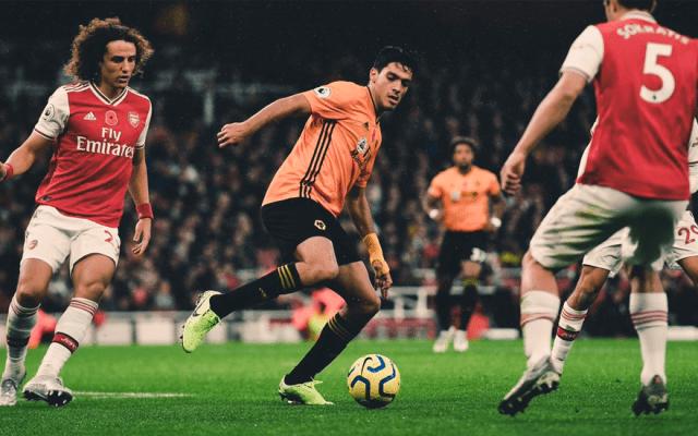 #Video Raúl Jiménez le da el empate a los Wolves en casa del Arsenal - jiménez