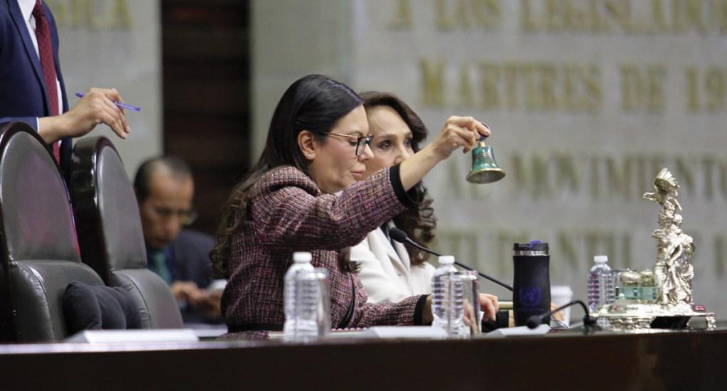 Mesa Directiva está lista para aprobar dictamen de presupuesto: Laura Rojas - Foto de Notimex