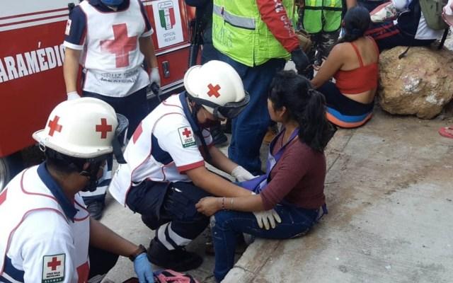 Explosión en panadería de Oaxaca deja al menos 9 lesionados - Lesionados explosión panadería Oaxaca
