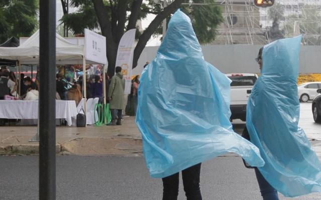 Lluvia de intensidad moderada en la Ciudad de México - Lluvia en la Ciudad de México