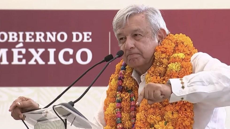 """Burocracia dorada """"va pa' fuera"""": López Obrador - Foto de captura de pantalla"""