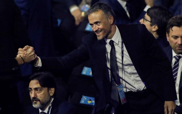 Luis Enrique celebra que España juegue en Bilbao la primera fase de la Euro - Foto de EFE