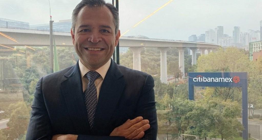 Manuel Romo es el nuevo director de Citibanamex - Foto de Twitter
