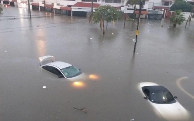 #Video Fuertes lluvias provocan inundaciones en Mazatlán - Foto de El Sol de Mazatlán
