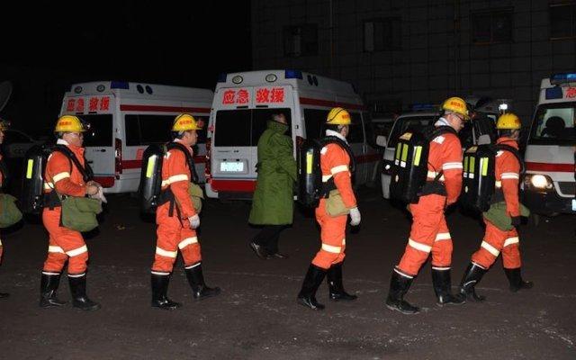 Mueren 15 mineros por explosión de gas en el norte de China - Foto de XHN NEws.