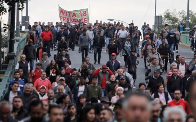 Al menos dosmovilizaciones este jueves en la Ciudad de México - movilizaciones manifestaciones