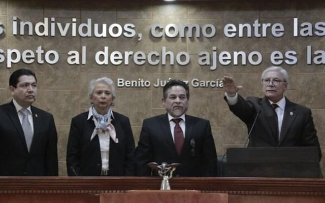 Reitera Sánchez Cordero que SCJN decidirá el destino de la Ley Bonilla - Foto de Secretaría de Gobernación