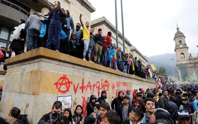 Paro Nacional en Colombia agrupa a millones en las calles - Foto de EFE