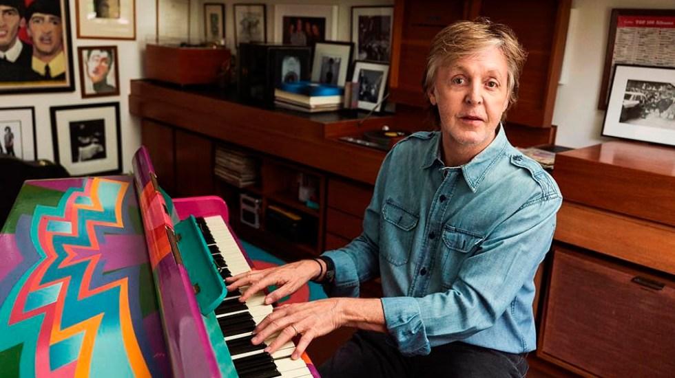 Paul McCartney sorprende a fans con estreno de dos canciones - Paul McCartney. Foto de @paulmccartney