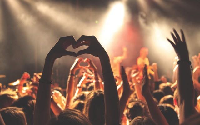 Revelan por qué las canciones causan placer en las personas - Personas disfrutando concierto. Foto de Anthony DELANOIX / Unsplash