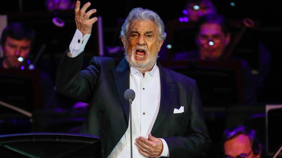 Plácido Domingo se retira de programa musical de Tokio 2020 - Plácido Domingo