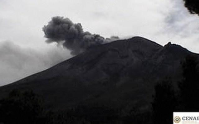 Popocatépetl emite 239 exhalaciones en las últimas 24 horas - Foto de Cenapred