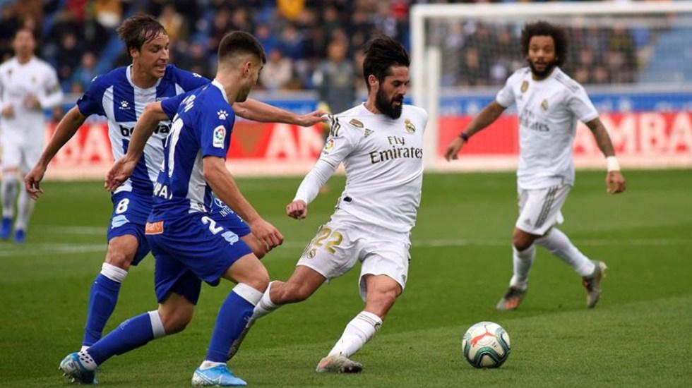 Real Madrid es líder en LaLiga tras vencer al Alavés - Real Madrid es líder en LaLiga tras vencer al Alavés