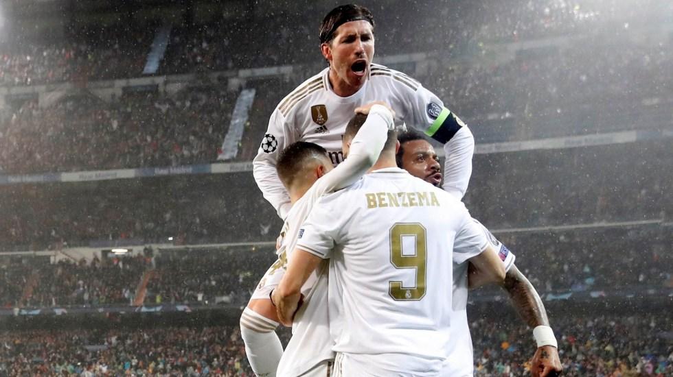Real Madrid deja escapar la ventaja y empata con PSG - Real Madrid Champions PSG