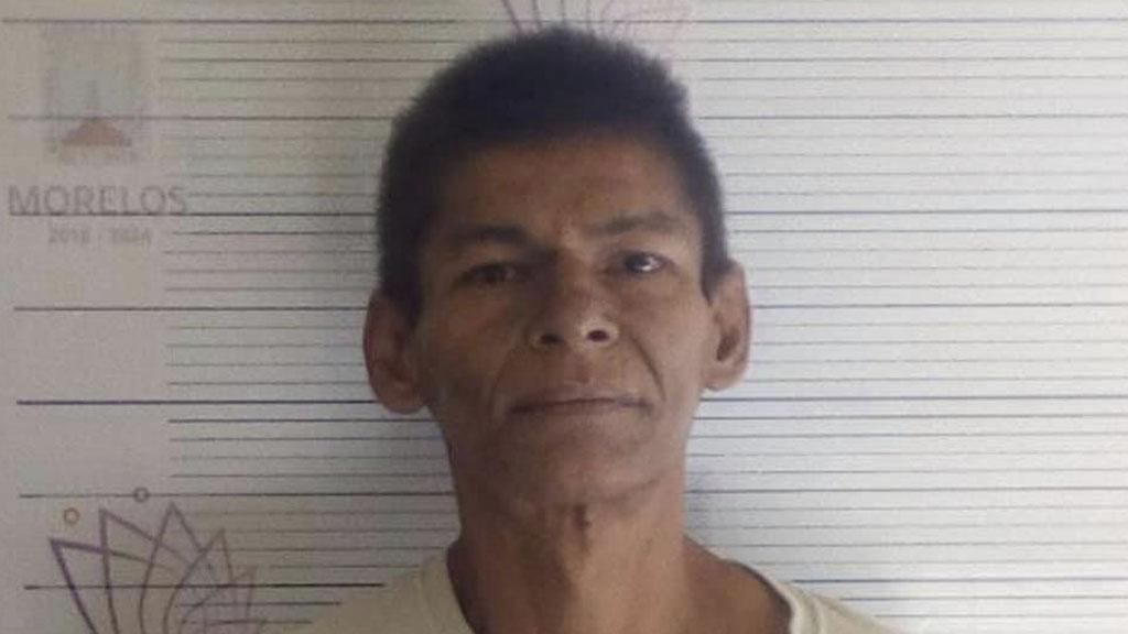 Reo del penal de Atlacholoaya, César Augusto García Arias. Foto de @ssp.morelos