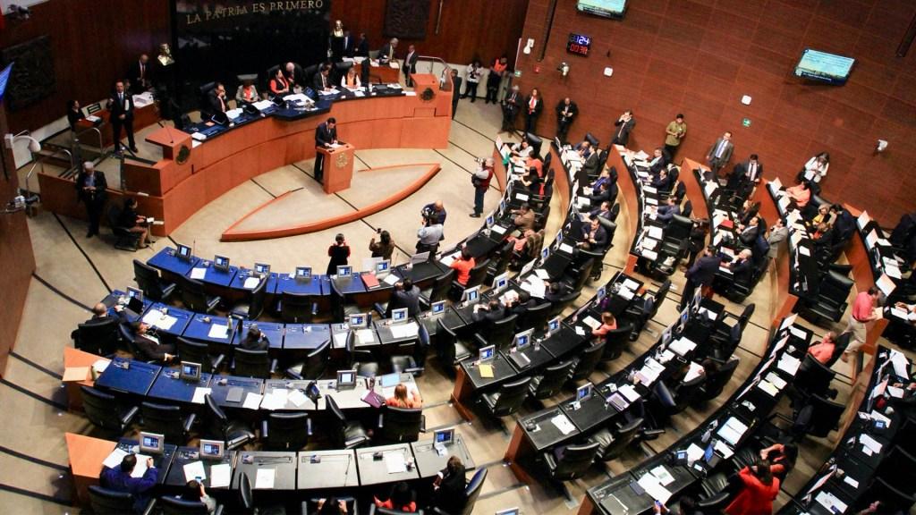 Turnan a comisiones del Senado terna para nueva ministra de la SCJN - Pleno del Senado. Foto de Archivo Notimex.