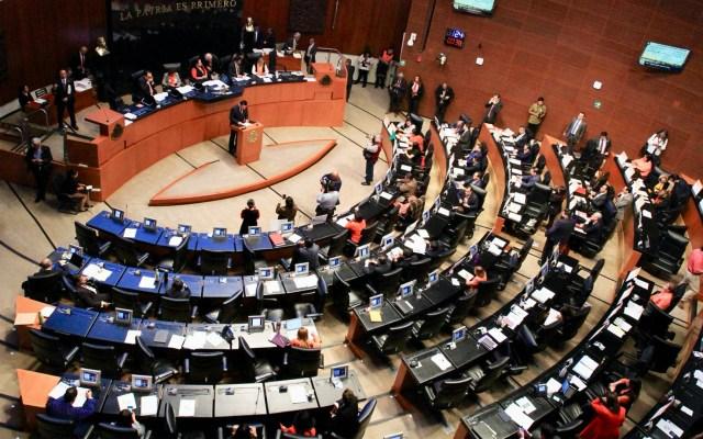Inicia discusión en el Senado para elegir nueva ministra de la Corte - Pleno del Senado. Foto de Archivo Notimex.