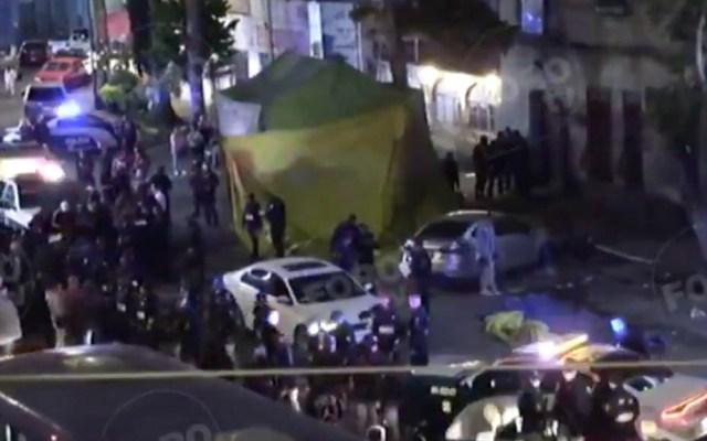Asesinan a balazos a hombre en Tepito - Tepito ataque disparos asesinato