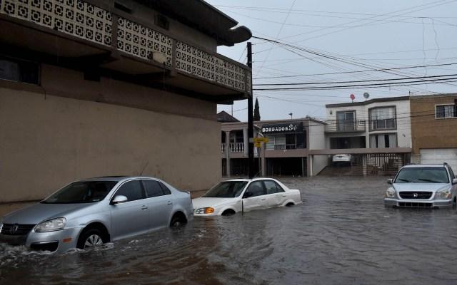 #Video Lluvias provocan severas afectaciones en Tijuana - Tijuana inundaciones lluvias