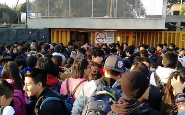 Encapuchados toman Prepa 5 de la UNAM - Toma de la Prepa 5 de la UNAM. Foto de El Universal / Especial
