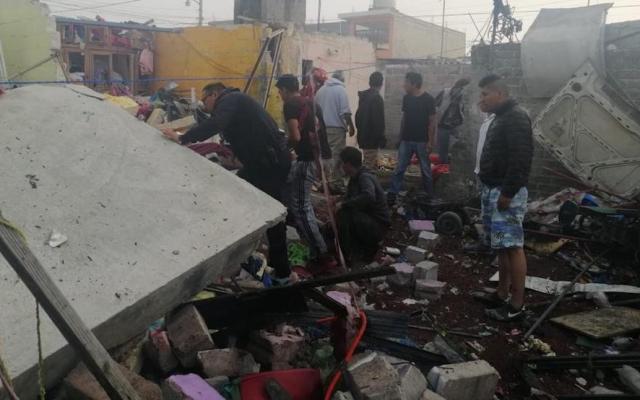 Explosión de polvorín en Tultepec deja dos muertos