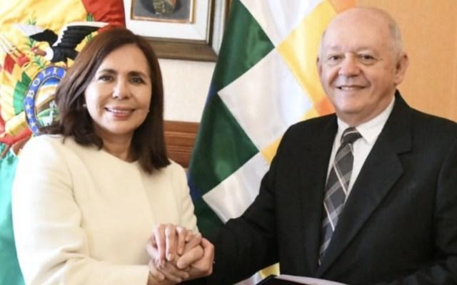 Bolivia nombra su primer embajador en Estados Unidos en once años - Foto de @MRE_Bolivia