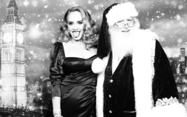 Adele acapara las redes sociales con fotos navideñas - Adele cantante música
