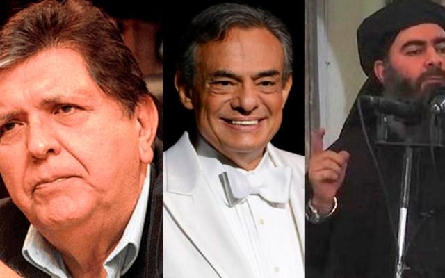 ¿Quiénes murieron en 2019? - Alan García, Al Bagdadi y José José murieron en 2019. Foto de LDD