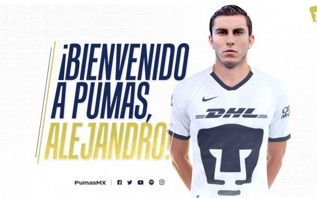 Alejandro Mayorga, nuevo jugador de Pumas para el Clausura 2020 - Alejandro Mayorga, nuevo jugador de Pumas para el Clausura 2020