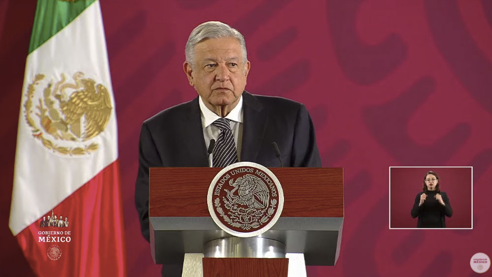 López Obrador niega alarma en el sector empresarial por inseguridad - AMLO Andrés Manuel López Obrador