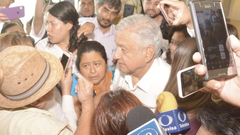 AMLO llega a Tabasco; augura mejor año económico para el estado - amlo tabasco