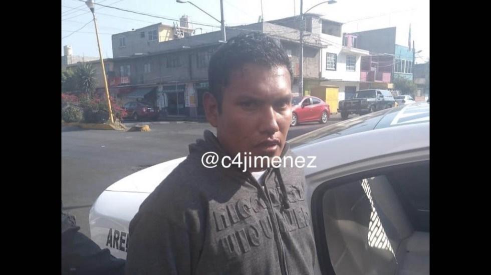 Detienen a sujeto que asaltó una tienda dos veces esta semana - Asalto Venustiano Carranza tienda Oxxo