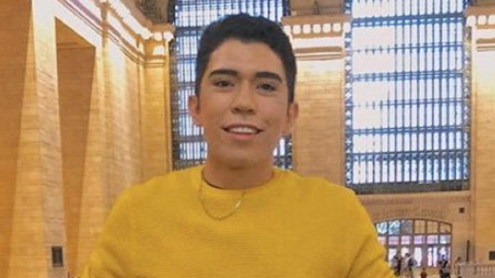 Desaparece el joven Ashmad Pineda en CDMX; su último mensaje fue 'ayuda' - Ashmad Pineda. Foto de @FridaGuadarrama