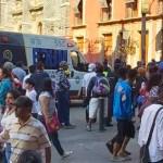 Balacera afuera de Palacio Nacional deja varios heridos