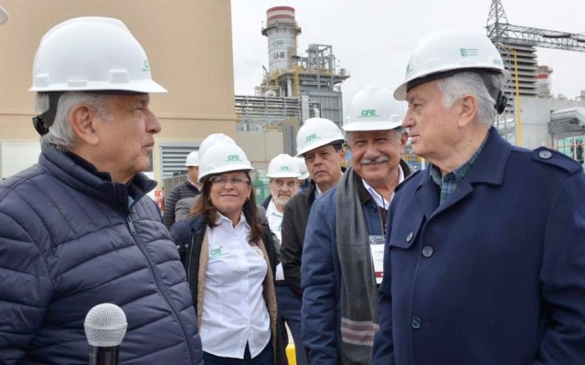 Bartlett destaca lucha de AMLO contra privatización del sector eléctrico - Bartlett destaca lucha de AMLO contra privatización del sector eléctrico