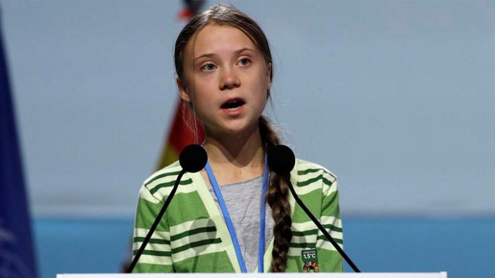 """""""Este es el mundo que nos están dejando"""", Greta Thunberg reacciona a incendio en plataforma de Campeche - Bolsonaro llama """"mocosa"""" a Greta Thunberg"""