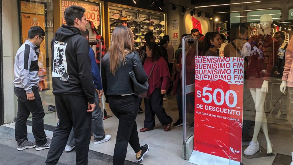 El Buen Fin 2019 elevó 5.7 por ciento ventas de la ANTAD - Descuentos en tienda durante el Buen Fin. Foto de Notimex / Archivo